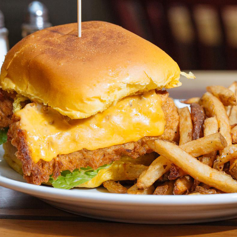 Guppys Wild Cod Burger